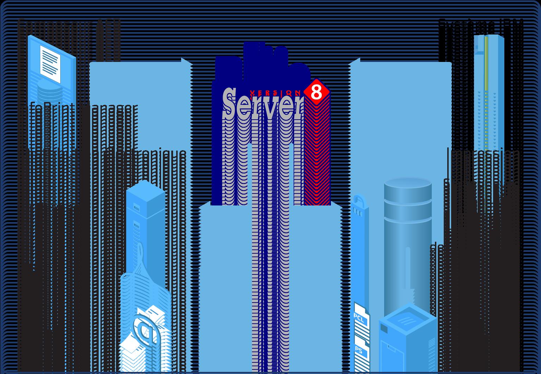 Blue Server - Flow illustration