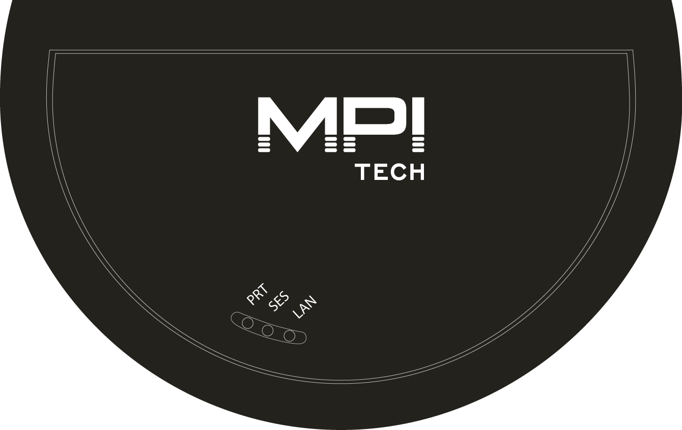 MPI Tech hardware PrintServer LAN connection and transforms