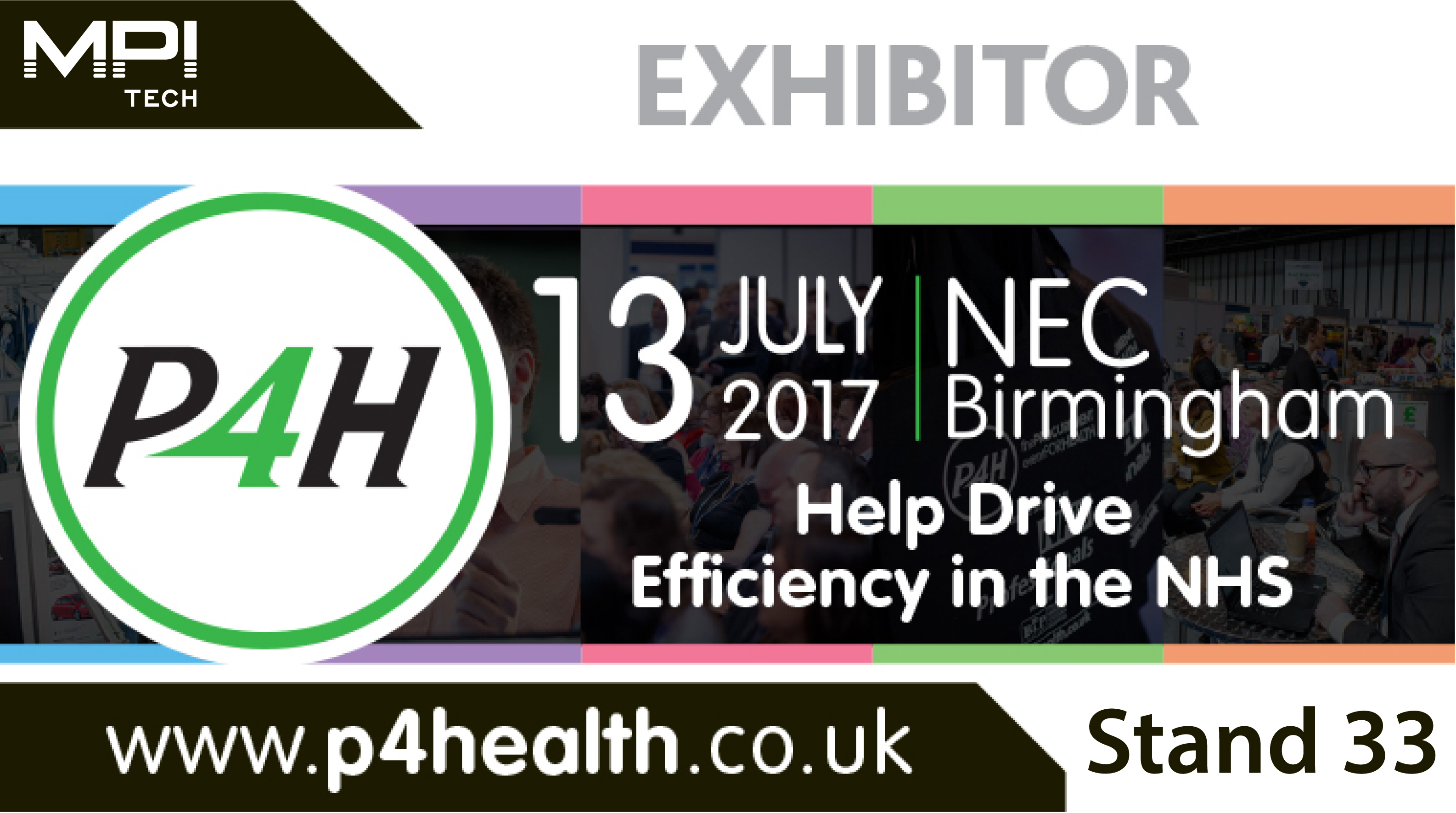 Meet MPI Tech at P4H event in Birmingham July 13