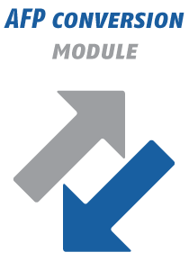 AFP Conversion Module - AFP to PDF