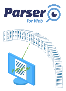 Parser for web - On the fly previewing of AFP spool files