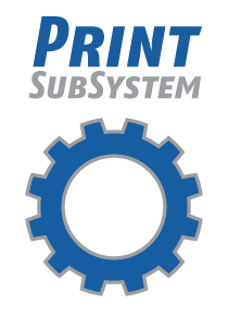 Print SubSystem logo (PSS)